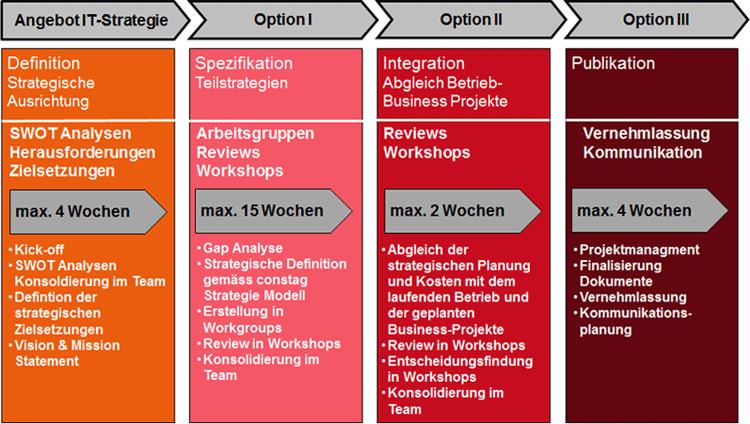 IT-Strategie Beratung: Produktstruktur von constagHORIZON
